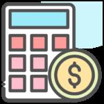 calculator_coin_dollar_money_icon_127186